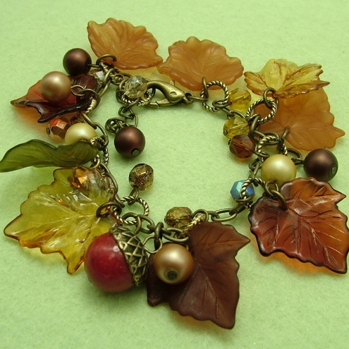 Autumn Leaves Bracelet (8)