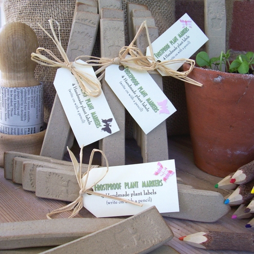 Rustic Plant Markers  ~ Topiary  Top ~