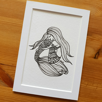 'Mermaid' Print