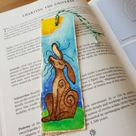 'Snooty Hare' Bookmark