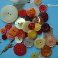 Vintage Sunshine Buttons