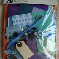 Blue Crafty Mojo - Craft Kit