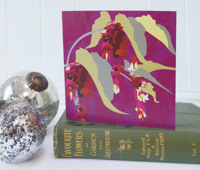 Pheasant Berry Christmas Card