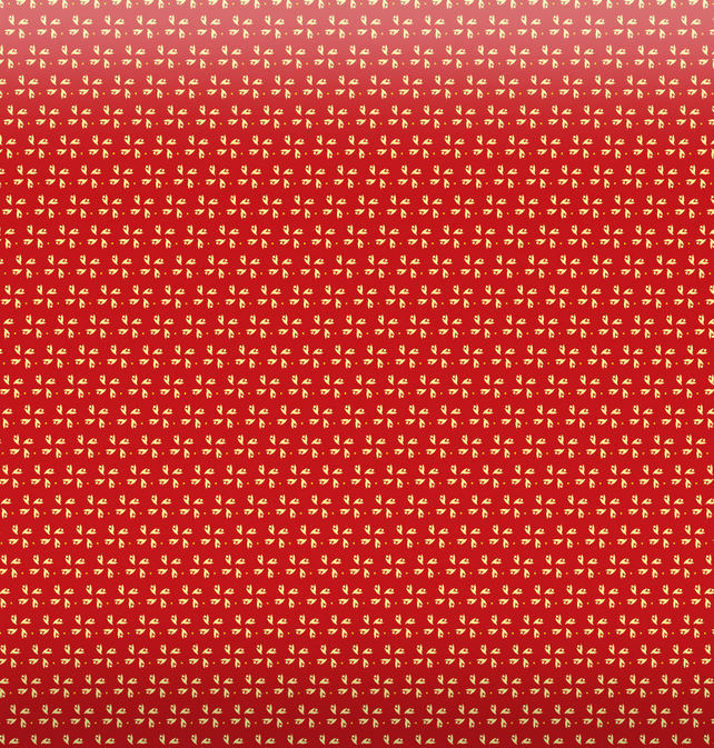 Red Pinwheels Christmas Gift Wrapping Paper