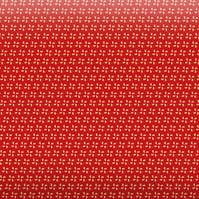 Red Pinwheels Gift Wrapping Paper