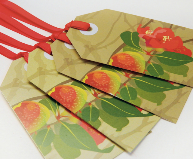 Quince Christmas Gift Tags