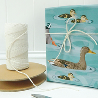 Dabbling Ducks Gift Wrapping Paper - Easter, Spring gifts