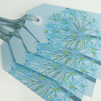 Winter Allium Christmas Gift Tags