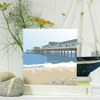 The Pier Card - seaside, birthday, Fathers Day
