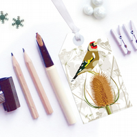 Goldfinch Gift Tags - Eco Friendly, Compostable