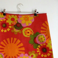 sunburst skirt