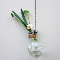 Glass Bulb Flower Vase
