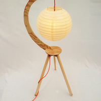 Hanging Sphere Tripod Lamp - Lighting