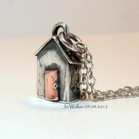 The Original Silver Beach Hut  Handmade