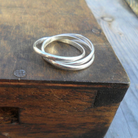 Russian 3 band Ring