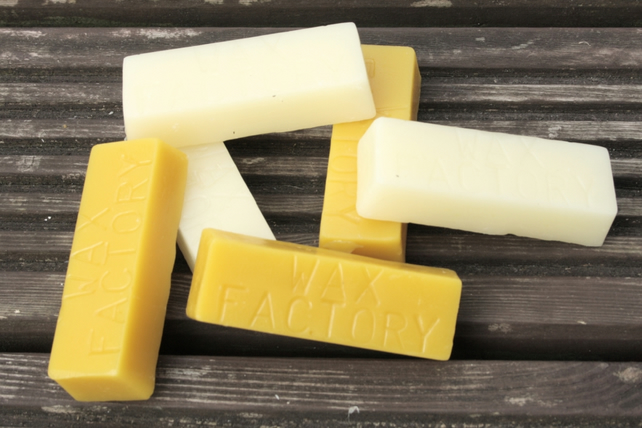 Pure Beeswax Bar approximately 1oz  30g