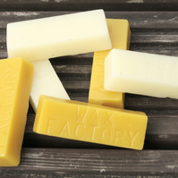 Pure Beeswax Bar, approximately 1oz, 30g
