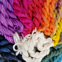 Stranded Silk Embroidery Thread, 12-strand silk, Embroidery Floss