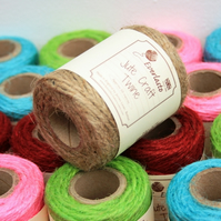 Jute Twine, Garden String, Packaging String, Jute Cord, Biodegradable Twine