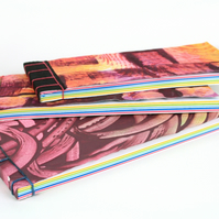 Rainbow Jotter, Notepad, Notebook, Colourful