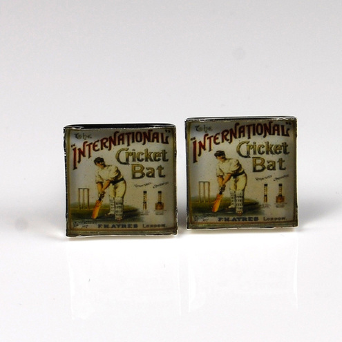Cricket Cufflinks by Moonflame on Folksy