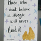 Original painting by Jo Roper with quote bunnies