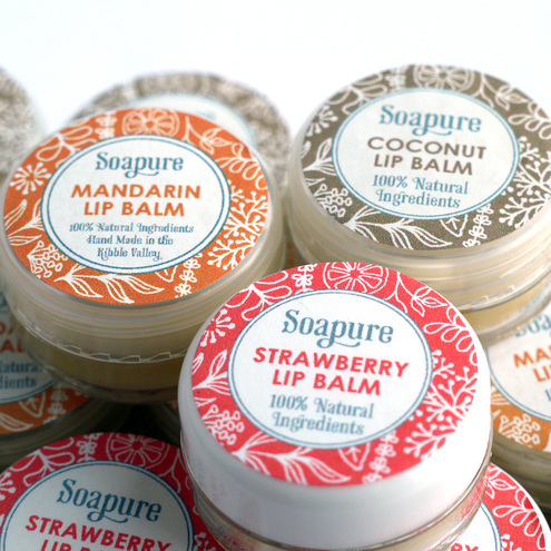 Natural Madarin Lip Balm