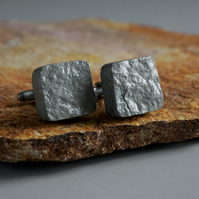 Recycled Paper Cufflinks