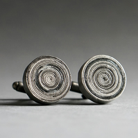 Newspaper Cufflinks