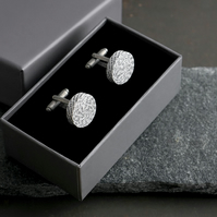 First Annviersary Personalised Paper Cufflinks