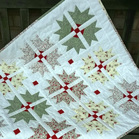 cross and crown baby quilt
