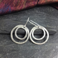 Sterling silver Ripple earrings