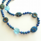 Chrysocolla, Jasper and Czech Glass Necklace