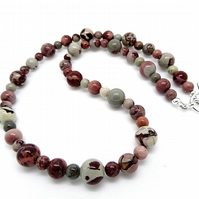 Coffee Bean Jasper Necklace