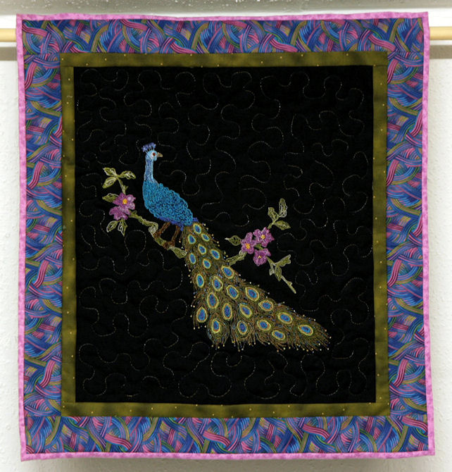 Wallhanging Peacock
