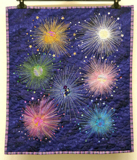 Wallhanging Fireworks