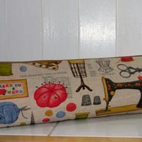 Knitting Needle Pouch Vintage Sewing & Knitting Print