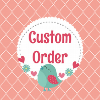 Custom Order Two Adult PVC Oilcloth Apron