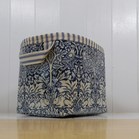 William Morris Brer Rabbit Small oilcloth storage basket