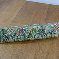 Knitting Needle Pouch Bag William Morris Golden Lily Print
