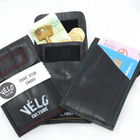 Cake Stop Caddy - recycled inner tube bicycle wallet, pouch