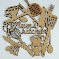 'Mum's kitchen' decoration