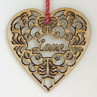 'Love' heart (medium)