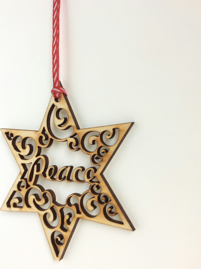 'Peace' star (small)