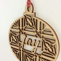 'Joy' bauble (small)