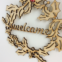 'Welcome' wreath (medium)