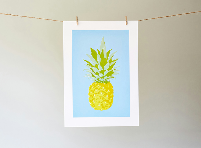 Totes Trops Pineapple Giclée print