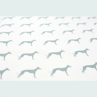 Sighthound Whippet Tea Towel