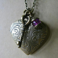 heart necklace *sale* 25% off