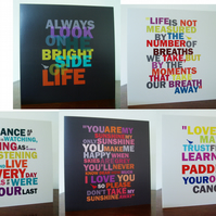 Bright Words Cards